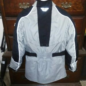 Fly motorcycle jacket with armor
